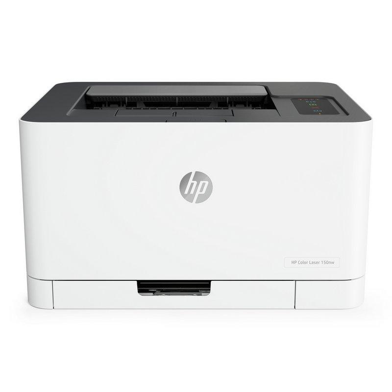 HP LaserJet 150NW Wireless Colour Laser Printer from Argos