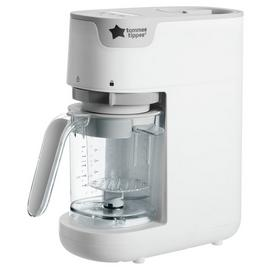 Tommee Tippee Quick-Cook Baby Food Steamer Blender - White