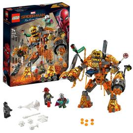 LEGO Marvel Spider-Man Molten Man Battle Toy - 76128
