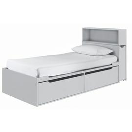 Argos Home Lloyd Grey Cabin Bed with Storage Headboard