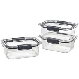 Sistema Brilliance Food Storage Set - 3 Pack