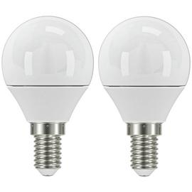 Argos Home 3W LED Mini Globe SES Light Bulb - 2 Pack