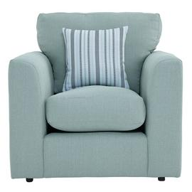 Argos Home Cora Fabric Armchair - Duck Egg