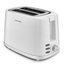 Morphy Richards 220029 Dune 2 Slice Toaster - White