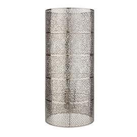 Argos Home Fretwork Table Lamp - Nickel