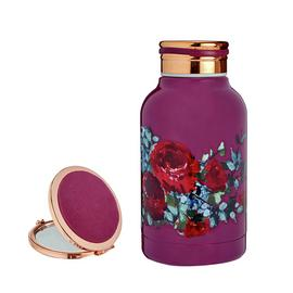 Tranquil Retreat Small Drinks Bottle & Compact Mirror