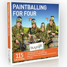 Buyagift Paintballing For Four Gift Experience