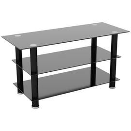AVF Glass up to 50 Inch TV Stand - Black