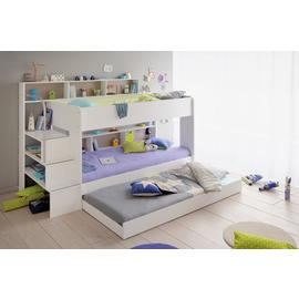Parisot Bibop Bunk Bed with Step Storage Drawer - White