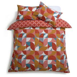 Habitat Curve Geo Reversible Bedding Set
