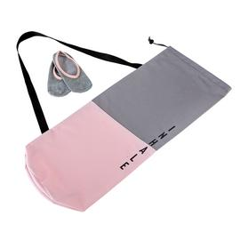Active Life Happy Life Inhale Exhale Yoga Mat Bag & Socks