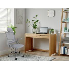 Argos Home Novara Office Desk - Oak Veneer