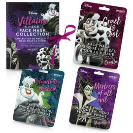 Disney Villains Sheet Face Masks Gift Set