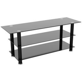 AVF Glass Up to 65 Inch TV Stand - Black