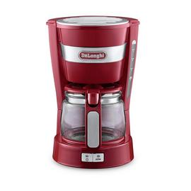 De'Longhi ICM14011.R Active Line Filter Coffee Machine - Red