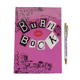 Mean Girls Burn Book Notebook & Pen Set