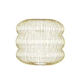 Habitat Jorge Easy-to-Fit Brass Ceiling Shade