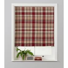 Julian Charles Checked Roman Blind
