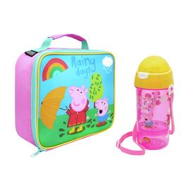 Peppa Pig Lunch Bag And Bottle Set - 400ml