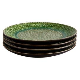 Habitat Sintra Set Of 4 Side Plates - Green
