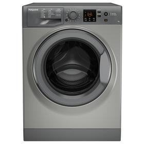 Hotpoint NSWM743UGG 7KG 1400 Spin Washing Machine - Graphite