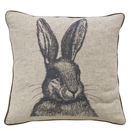 Argos Home Highlands Hare Print Cushion