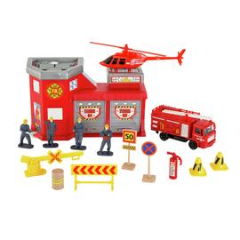 Chad Valley City Fire Station Playset