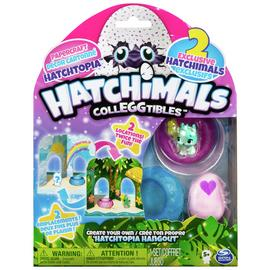 Hatchimals CollEGGtibles Hangout Playset