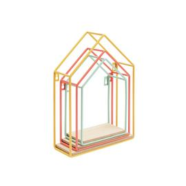 Argos Home Metal Set of 3 Bright House Shelves