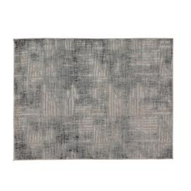 Argos Home Brushed Stripes Rug - 120x160cm - Blue