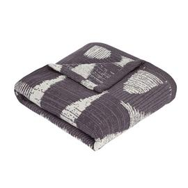 Argos Home Kanso Textured Throw - Monochrome