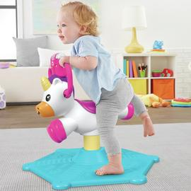 Fisher-Price Bounce and Spin Unicorn