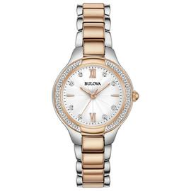 Bulova Ladies Diamond Set Bracelet Watch