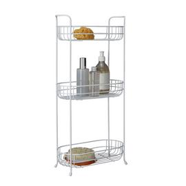 Argos Home 3 Tier Oval Freestanding Unit - White
