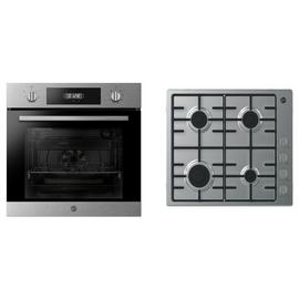 Hoover PHC3B25CXHHW6LK3 Electric Oven and Gas Hob Pack