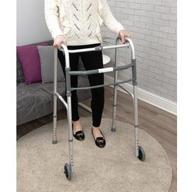 Aidapt Lightweight Aluminium Folding Two Wheel Walking Frame