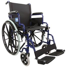 Aidapt Steel Self Propelled Blue Transit Chair