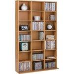 more details on Collection Islington DVD/CD Media Storage Unit - Oak Effect.