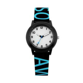 Little Tix Childrens Blue Awesome Silicone Strap Watch