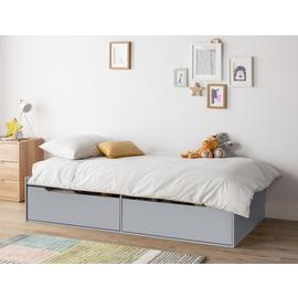 Argos Home Lloyd Grey Cabin Bed & Mattress