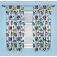 PAW Patrol Mighty Pups Unlined Pencil Pleat Curtains