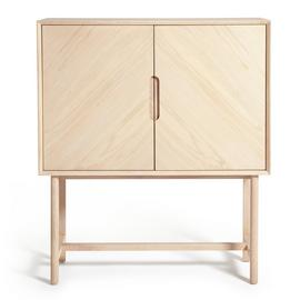 Habitat Halden 2 Door Drinks Cabinet - Natural