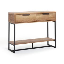Habitat Nomad Console Table - Oak