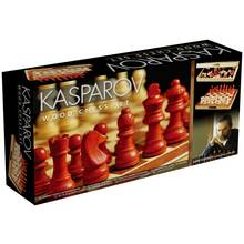 Garry Kasparov Wooden Chess Set