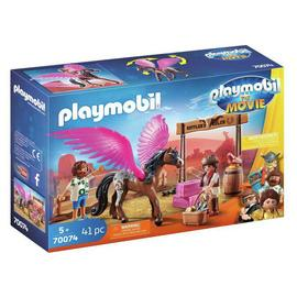 Playmobil 70074 The Movie Marla & Del with Horse