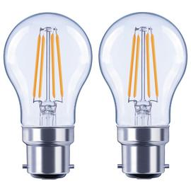 Argos Home 4W LED BC Globe Light Bulb - 2 Pack
