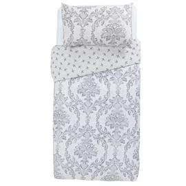 Argos Home Damask Bedding Set - Single