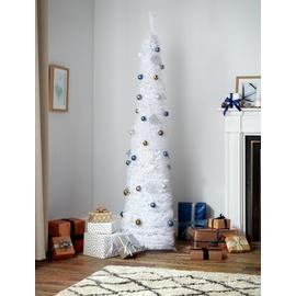 Argos Home 6ft Pop Up Tree - White