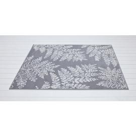 Argos Home Fern Leaf Rug - 160x120cm - Grey