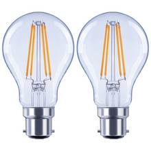 Argos Home 6W LED BC Light Bulb - 2 Pack